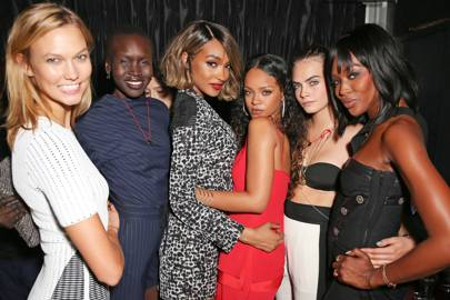 Jourdan Dunn Cell For Gratitude charity event - September 7 2014