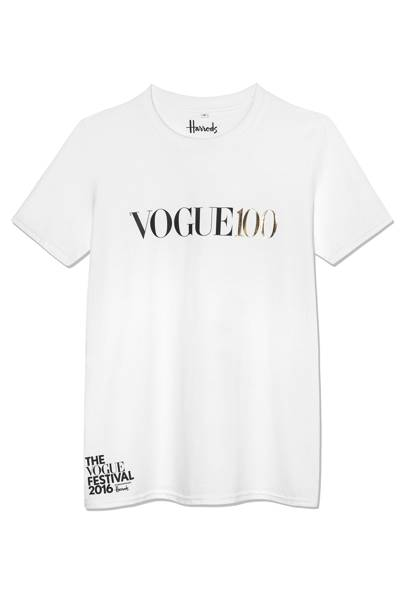 Vogue 100 Festival T-shirt by Harrods