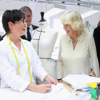 A seamstress meets the Duchess