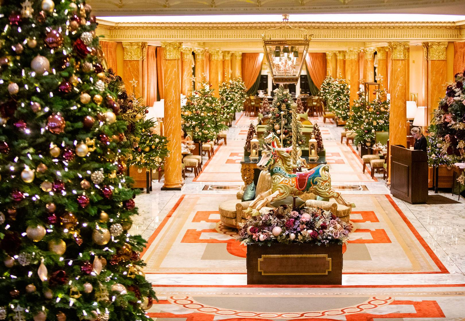 The Dorchester Mary Poppins Christmas Decorations Behind The Scenes