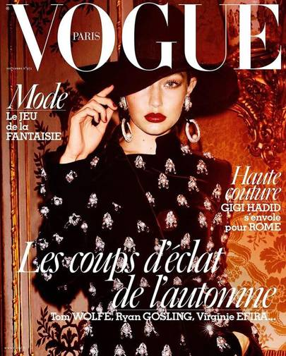 Vogue Paris, November 2016