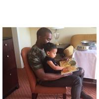 Dad: Kanye West