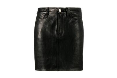 The Leather Miniskirt: