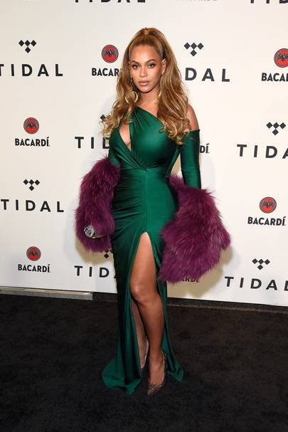 Beyonce Fishtail Dresses
