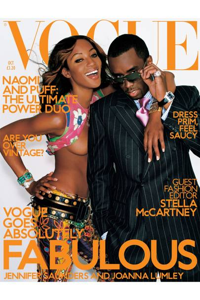 Vogue Cover, October 2001