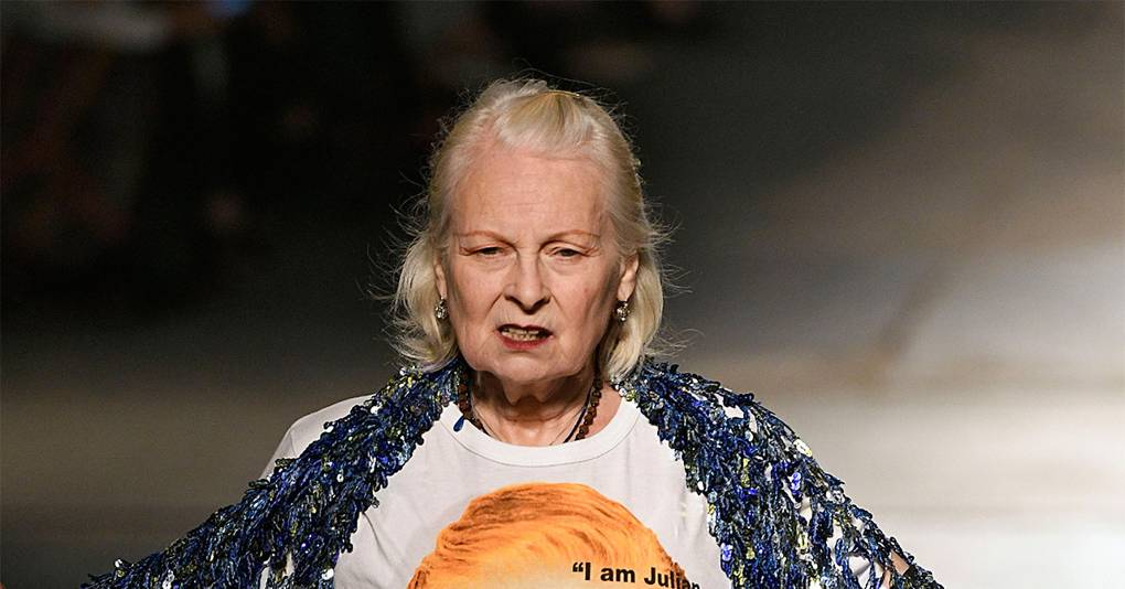 9 Times Vivienne Westwood Used The Catwalk To Talk About More Than Clothes