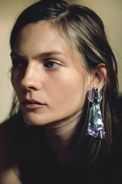 Always add earrings