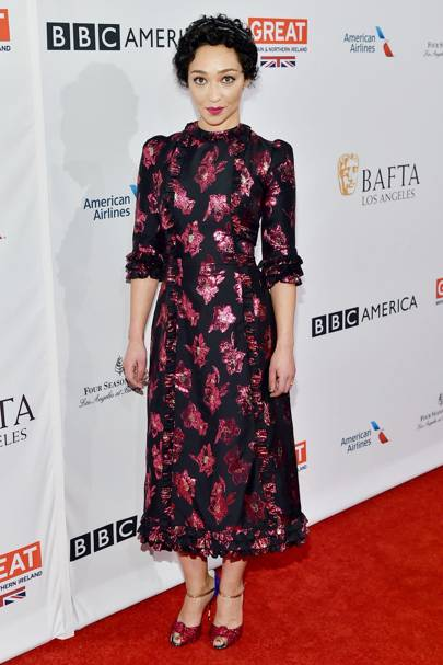 In The Vampire's Wife for the BAFTA tea party, January 7 2017