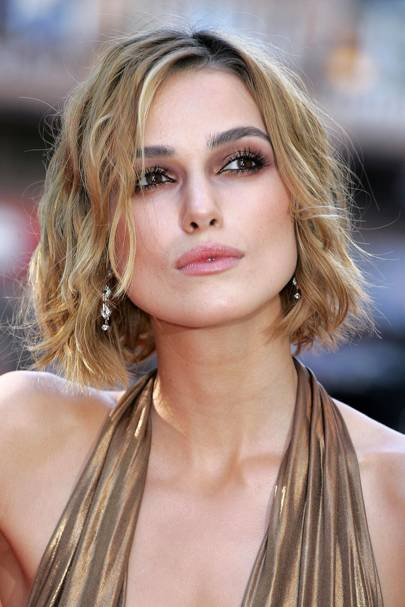 Keira Knightley Hair And Hairstyles On Red Carpet