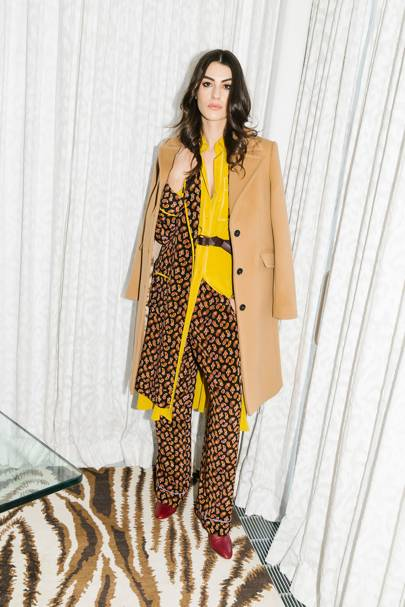 482361a190 Diane Von Furstenberg Autumn Winter 2019 Ready-To-Wear show report ...
