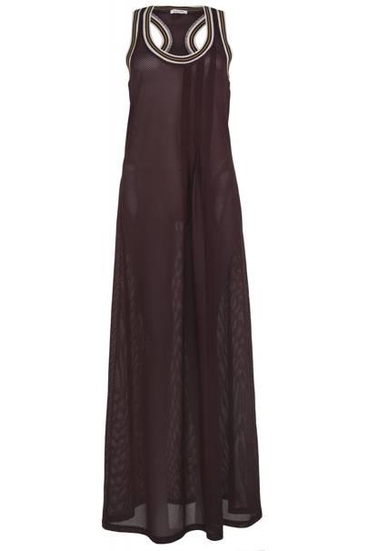 Red mesh dress, £50