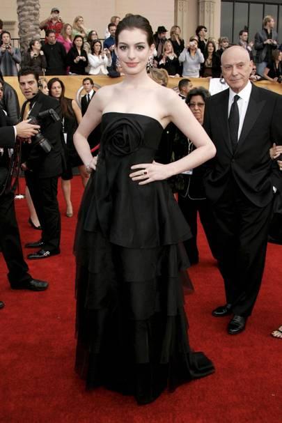 Anne Hathaway at the 2007 SAG Awards