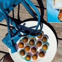 Butterscotch Bliss Balls with Maca