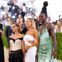 Emma Watson, Margot Robbie & Lupita lupita Nyong'o