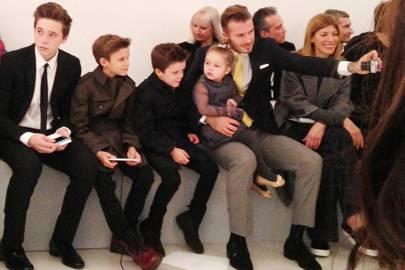 Victoria Beckham show - February 9 2014