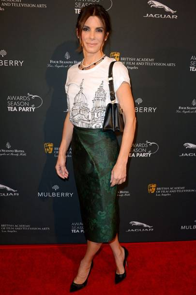 BAFTA and Mulberry LA tea party - January 11 2014