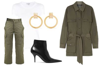 Eschew Double Denim And Embrace Double Khaki