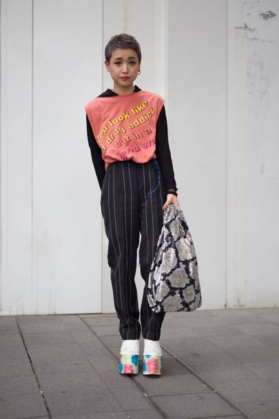 The street-style look: Eighties pop