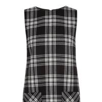 Tartan mini dress, £270