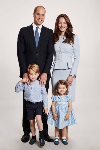 The Duke and Duchess of Cambridge's Christmas Card, London – December 18 2017