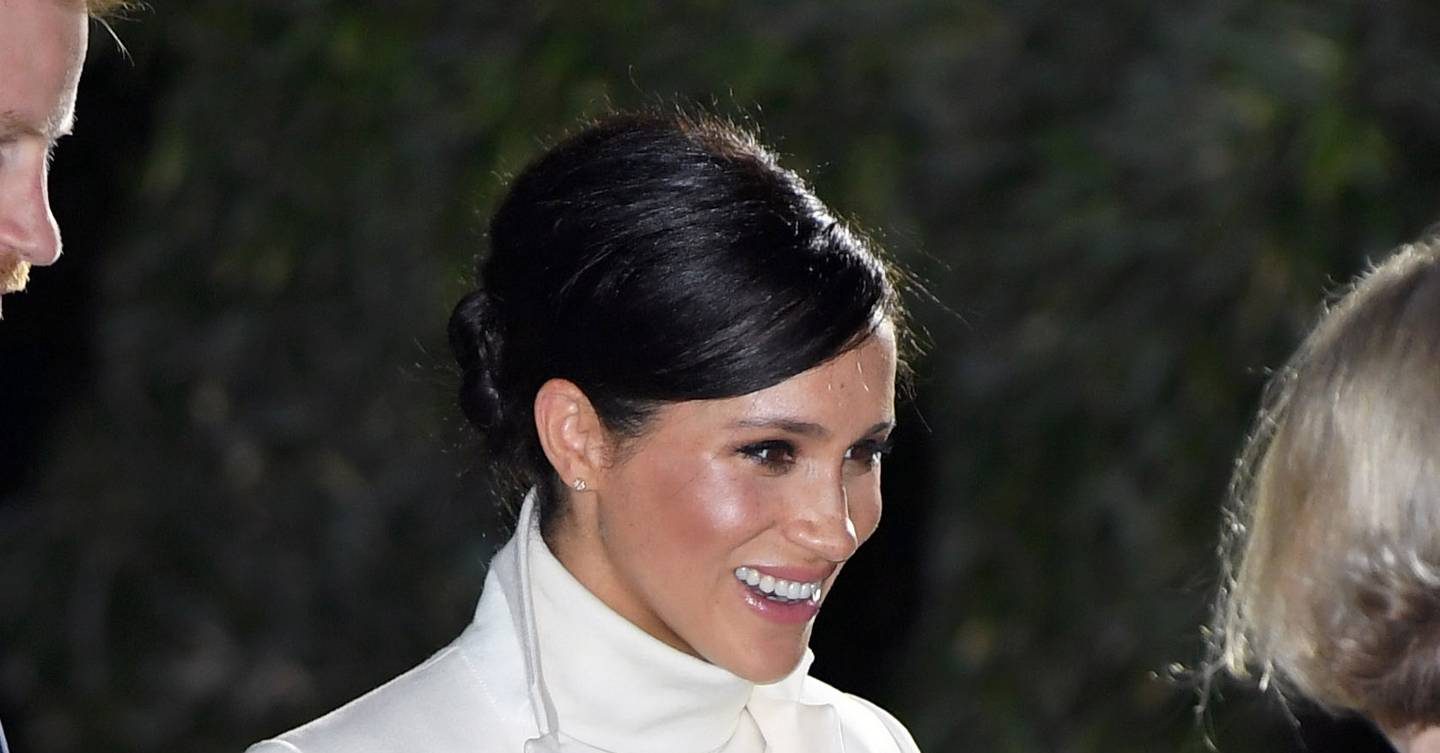 Meghan Strikes Another Pale And Interesting Note For A Night At The National History Museum