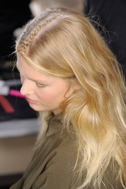 spring summer 2015 hair trend plait parade british vogue