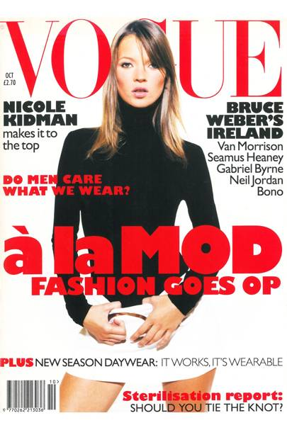 Vogue Cover, October 1995