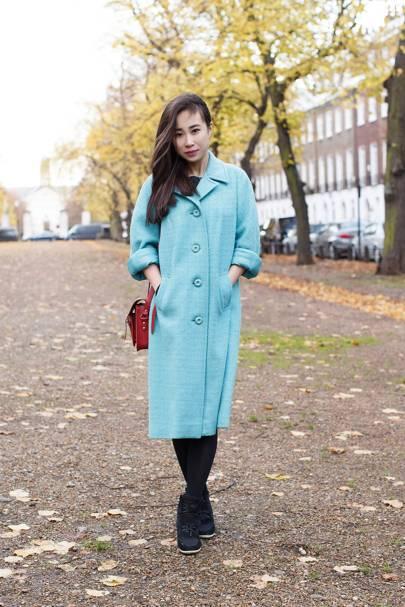 Ariel Li, masters student