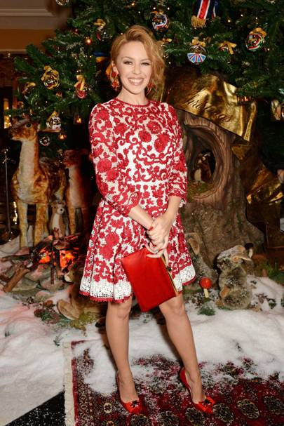 Claridge's Dolce & Gabbana Christmas tree unveiling, London - November 19 2014