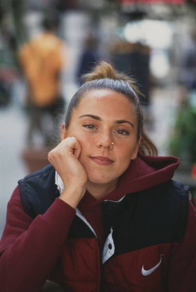 "Mel C's ""Sporty"" High Pony"