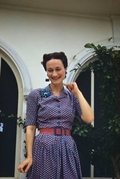 Wallis Simpson Fashion Amp Style Icon Vogue Com Uk