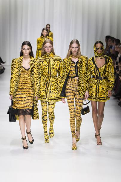 59ae25257 Versace Spring/Summer 2018 Ready-To-Wear show report | British Vogue