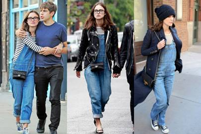 Keira Knightley's dungarees