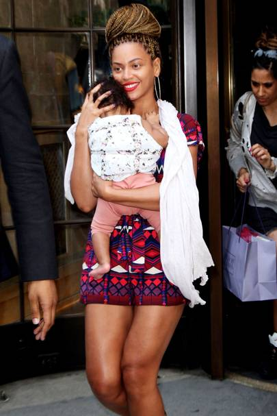On wanting more children after giving birth to Blue Ivy