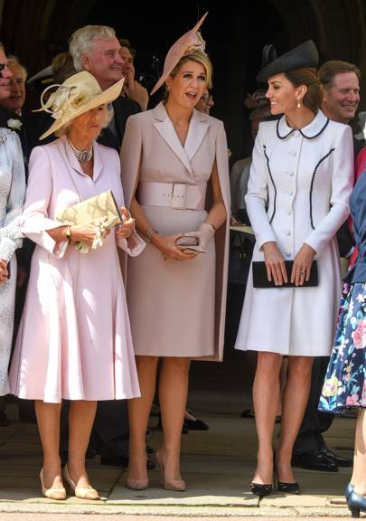 The Duchess Of Cambridge Has A My Fair Lady Moment In Catherine Walker At Windsor Castle