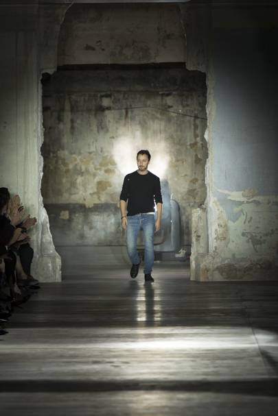 "Vaccarello said ""to have fun"" was the show's main message"