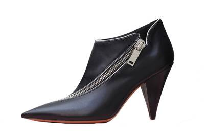 Céline's zipped ankle booties