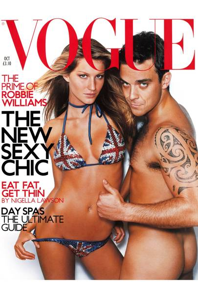 Vogue Cover, October 2000