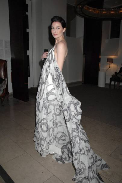 Erin O'Connor at the Modern Muses by Bryan Adams Exhibition, 2007