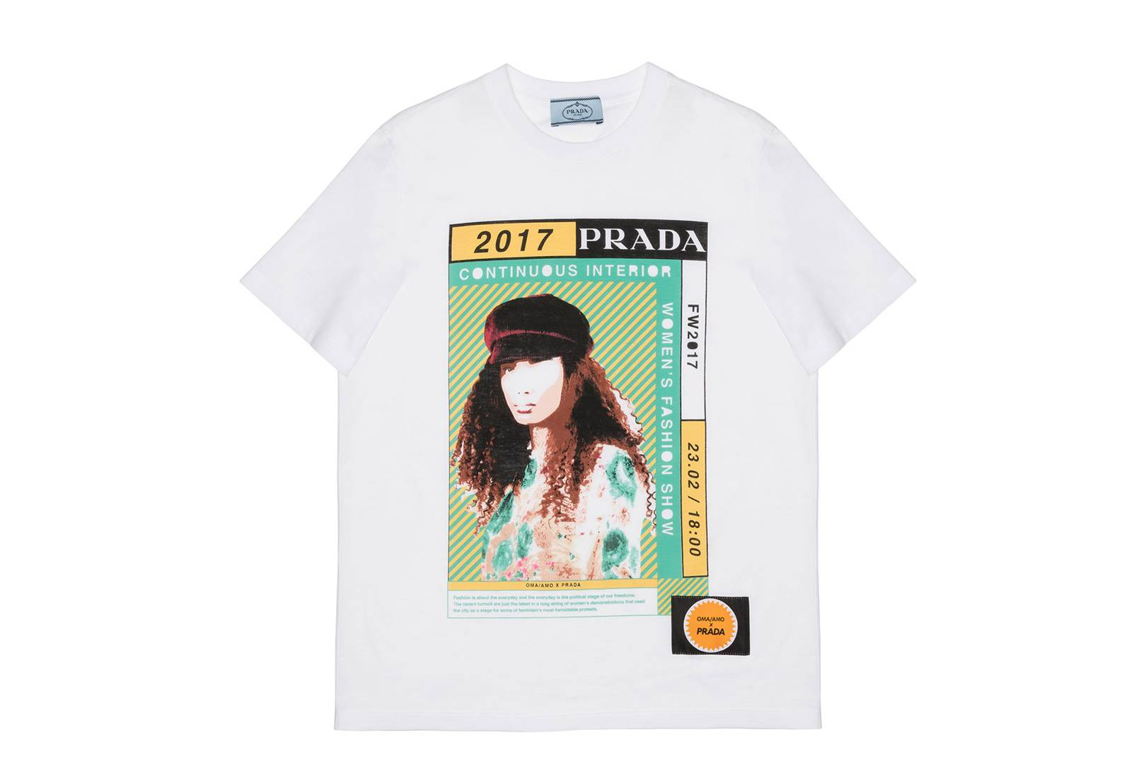 4e88602cd Vogue's Favourite T-Shirts: Prada's 2017 Capsule Collection | British Vogue