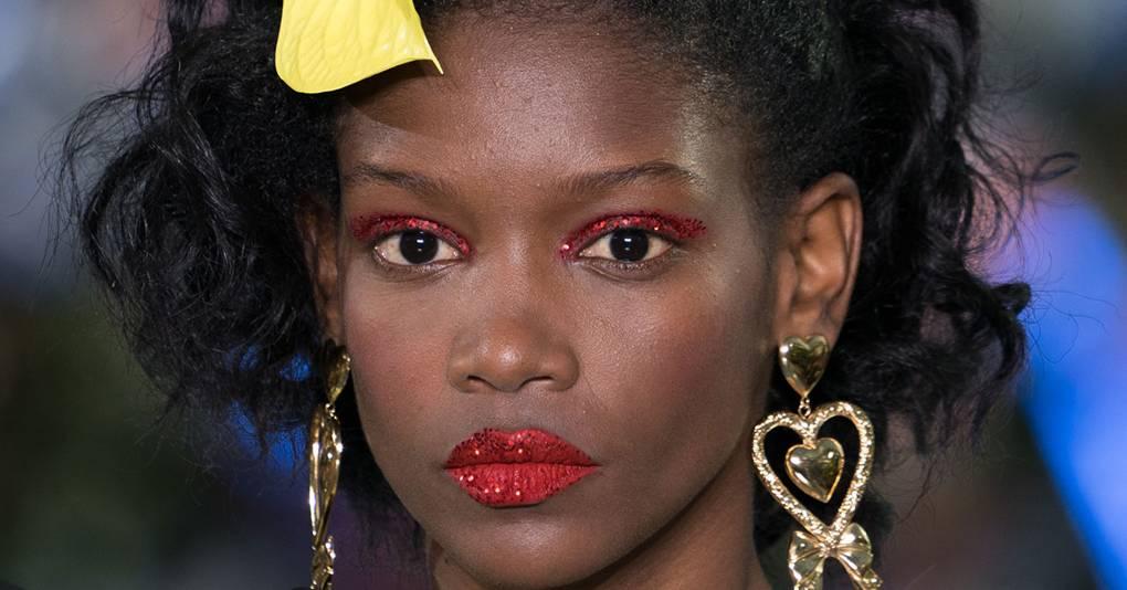 Rodarte Brings Mesmerising Glitter Make-Up to Its LA Homecoming