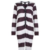 Striped onesie, £35