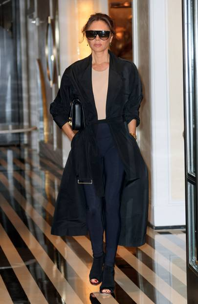 Victoria Beckham Puts A Posh Spin On Leggings With A Touch Of Chanel