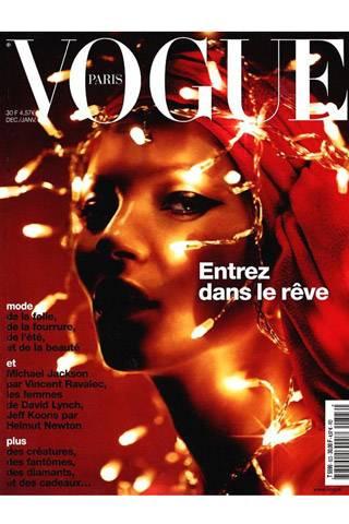 Vogue Paris, December 2001