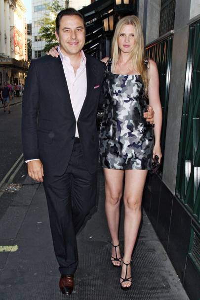 David Walliams's birthday party, London - August 20 2013