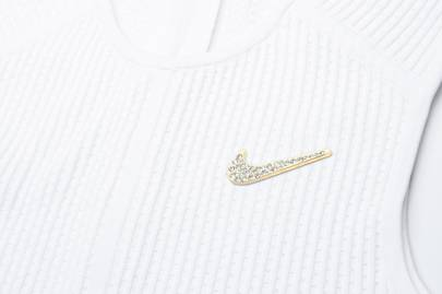 Serena Williams's Wimbledon Kit Will Feature The First Crystal Nike Swoosh: The Broosh