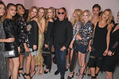 ab585a57325 Michael Kors who has just bought Jimmy Choo was in London in June hosting  Tatler s English Roses 2017 at the Saatchi Gallery