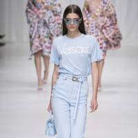 The Logo T-shirts Were Premiered At The Men's SS18 Show