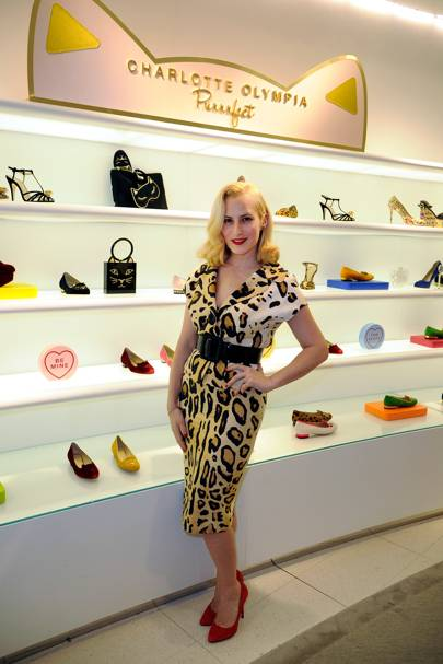 Charlotte Olympia store opening, LA - March 25 2014