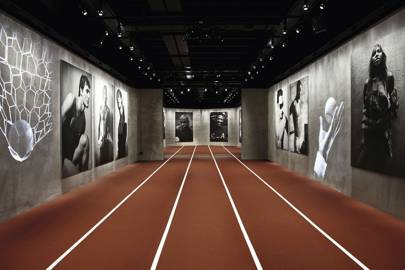 Emotions of the Athletic Body at Armani Silos.